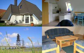 Ferienhaus an der Nordsee und Nordseeküste bei Cuxhaven und Bremerhaven am Meer und Strand