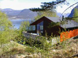Ferienhaus in Norwegen mit Motorboot