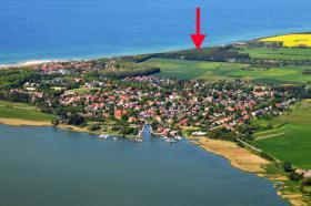 Luftbild Lage des Ferienhauses