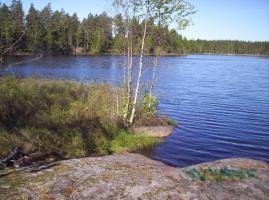 Ferienhaus in Schweden, Sauna, Boot