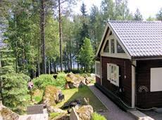 Ferienhaus mit Seeblick in Mittelschweden