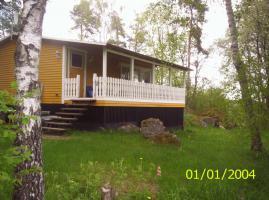 Ferienhaus f. 4+1 Pers. mit Sauna, Boot und Angelrecht in Schweden