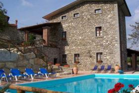Foto 4 Ferienhaus mit privaten Pool in der Toskana