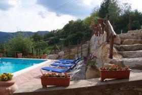 Foto 5 Ferienhaus mit privaten Pool in der Toskana