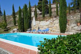 Foto 6 Ferienhaus mit privaten Pool in der Toskana