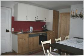 Wohnküche in FEWO ''Mondschaf''