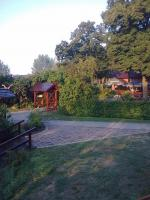Gartenlokal im Ort