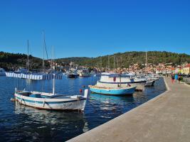 Foto 9 Ferienwohnung bis 3 Personen auf der Insel Korcula in Vela Luka direkt am Meer