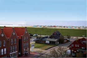 Foto 2 Ferienwohnung Meeresblick am Strand in Norddeich