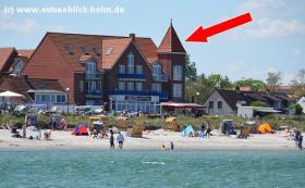 Ferienwohnung ''Wellenklang''  1. Reihe Schönberger Strand