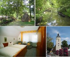 Ferienzimmer in Lübben im Spreewald - Spreewaldpension Akazienhof