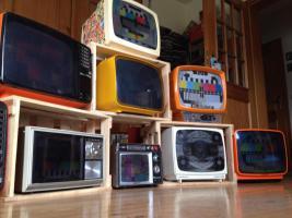 Fernseher aus den 70 er Vintage Kult