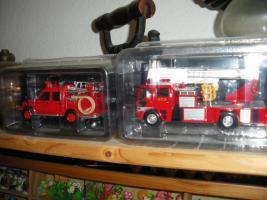 Foto 5 Feuerwehrautos aus aller Welt