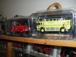 Foto 6 Feuerwehrautos aus aller Welt