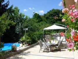 Pool-Grill Garten