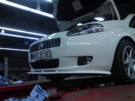 Fiat Grande Punto Front Spoilerlippe