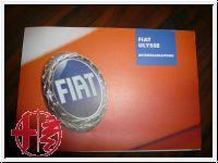 Fiat Ulysse Bedienungsanleitung 60381097