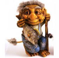 Foto 2 Figur zum Aufstellen, Trollfamilie 12 cm