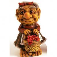Foto 5 Figur zum Aufstellen, Trollfamilie 12 cm
