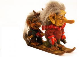 Foto 7 Figur zum Aufstellen, Trollfamilie 12 cm