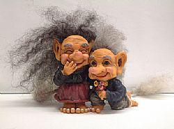 Foto 9 Figur zum Aufstellen, Trollfamilie 12 cm