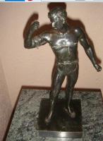 Figur aus Metall -Kettensprenger -26cm -1240g
