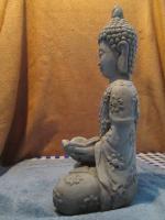 Foto 4 Figur Skulptur Gott Buddha Statue Bali Stein Deko