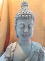 Foto 5 Figur Skulptur Gott Buddha Statue Bali Stein Deko