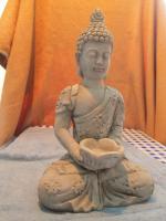Foto 6 Figur Skulptur Gott Buddha Statue Bali Stein Deko