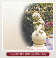 Figuren für den Garten Steinfiguren Gartenfiguren Steinskulpturen Statuen