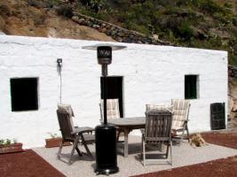 Haus und Terrasse