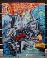 Fine Art (3D Graffiti Surf Art Surrealismus)