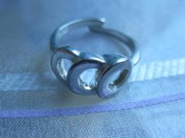 Foto 2 Fingerring aus 835 Silber