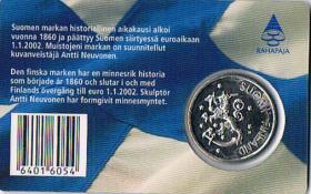 Foto 2 Finnland Muistojeni markka Letzte markka vor dem Euro ! !