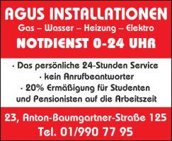 Firma Agus Gas Wasser Heizung Installatioen 0-24