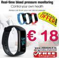 Fitness Tracker Armband nur € 18 frei Haus