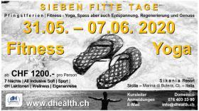 Fitness Yoga Pilates Ferien-Pfingsten 2020 Sicilia - Italia