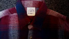 Foto 2 #Flanellhemd, #neu, Gr. 116, #Karo, #blau-rot-natur