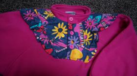 Foto 2 #Fleece m. Applikation, Gr. 110, #NEU, #pink, #Dixi-Mixi