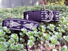 Halsband''Königslilie!verstellbar