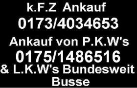 Flensburg Autoankauf pkw Busse Firmenwagen Geländewagen aller Art und Modelle