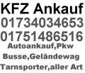 Flensburg Autoankauf,Pkw,Busse,Firmenwagen,Flensburg