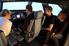 Fliegen wie ein echter Pilot im Flugsimulator