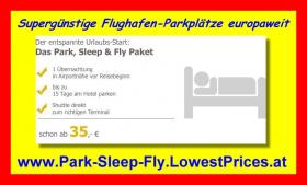 Foto 2 Flughafen-PARK-SLEEP-FLY europaweit ab € 35