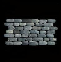 Flusskiesel Mosaik-Fliesen