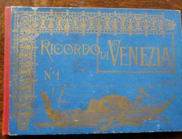 Fotoalbum RICORDO DI VENEZIA (alt)