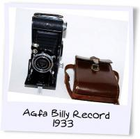 Fotoapperat Agfa Billy Record