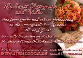 Fotograf, Hochzeitsfotograf, Kameramann, Videograf