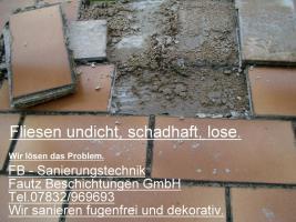 Foto 3 Freiburg, Waldkich, Emmendingen Ihr  Partner für Balkonsanierung, Balkonabdichtung, www.fautz-beschichtungen.de  Info. Tel. 07832 / 969693