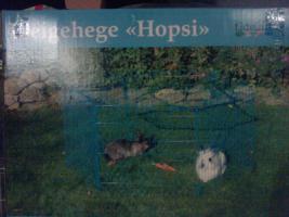 Freigehege Hopsi für Meerschweinchen und Zwergkaninchen